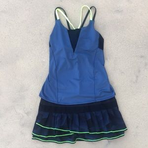 Lucky In Love 2 pc tennis set